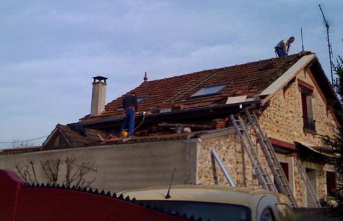 Dépose ancien toiture dégradée - Anglet - 64600 -