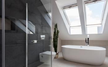 Salle de bains sous combles - Bidart -t 64210 -