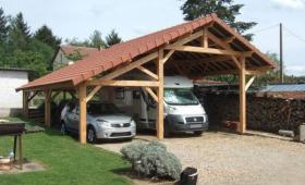 Abri  bois voiture et camping car - Bidart - 64210 -