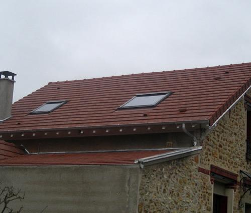 Rénovation finale toiture avec pose Velux - Anglet - 64600 -
