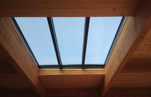 Verrière toit en pente façade latérale Biarritz  intérieur- 64200 -