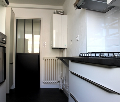 rénovation cuisine appartement -  Anglet -