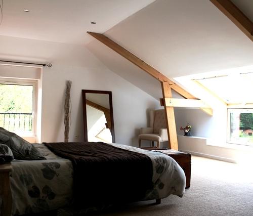 Aménagement comble espace chambre - Biarritz -