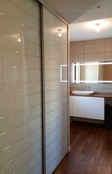 rénovation chambre en dressing salle de bain - Bidart -