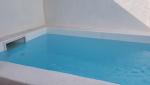 enduit blanc piscine biarritz 64