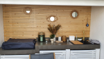 aménagement terrasse cuisine extérieure biarritz 64