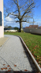 Aménagement extérieur allée pavée bordée - Bayonne Nord -