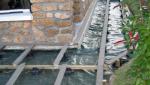 terrasse bois et entourage façades - ragréage sol et pose dalle - Biarritz -