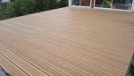 terrasse bois arrière maison - Biarritz -