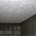 isolation plafond sous-sol