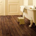 revêtement de sol salle de bain parquet stratifié