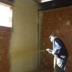 Isolation murs polyuréthane projeté